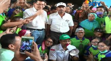Gus Ipul berjanji bila terpilih akan membuat iklim usaha di Jawa Timur semakin kondusif, di antaranya soal kemudahan perizinan.