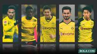 Kolase - 5 Pemain Borussia Dortmund (Bola.com/Adreanus Titus)