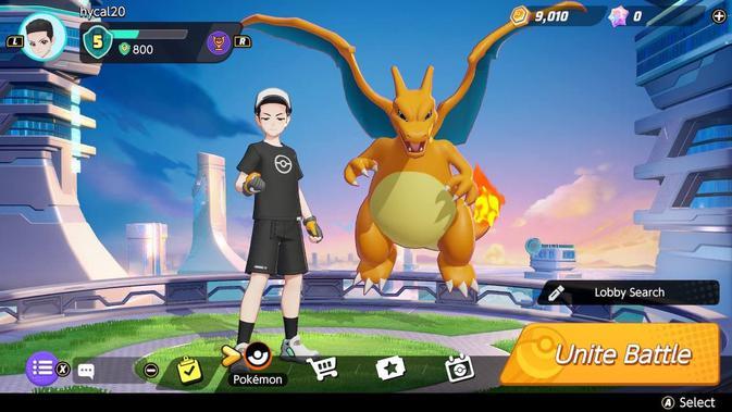 Pokemon Unite segera hadir di iOS dan Android setelah muncul duluan di Nintendo Switch. (Doc: Nintendo)