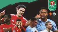 Carabao Cup - Manchester United Vs Manchester City - Head to Head (Bola.com/Adreanus Titus)