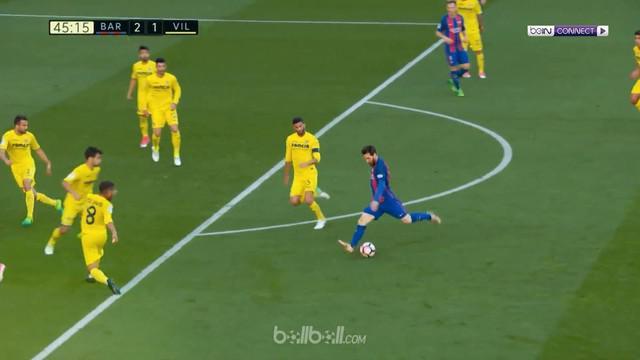 Berita video Lionel Messi mencetak gol penalti panenka saat hadadpi Villarreal. This video presented by BallBall.