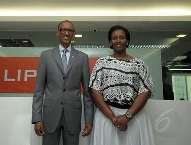 Presiden Rwanda Kunjungi Markas Liputan6.com