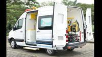 Mercedes-Benz Sprinter A2 dimodifikasi untuk armada ambulans. (Dok: Baze)