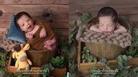 Potret Baby Born Xavier Anak Ricky Perdana dan Chaca Thakya. (Sumber: Instagram.com/rickyperdana06 dan Instagram.com/creatinkmoments)