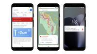 Sistem Peringatan Banjir dari Google di India dan Bangladesh. Kredit: Google