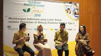 """NRC Grant 2018 mengusung tema penelitian yang diusung """"Membangun Indonesia yang Lebih Sehat melalui Penelitian di Bidang Diabetes Melitus Tipe 2"""". (Istimewa)"""
