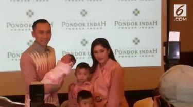 Pasangan Ibas Yudhoyono dengan Aliya Rajasa diberkahi seorang putri di awal tahun 2018.