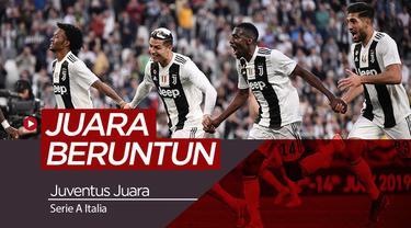 Berita video Juventus berhasil mengunci gelar kedelapan secara beruntun setelah mengalahkan Fiorentina 2-1 dalam lanjutan Serie A pekan ke-33.