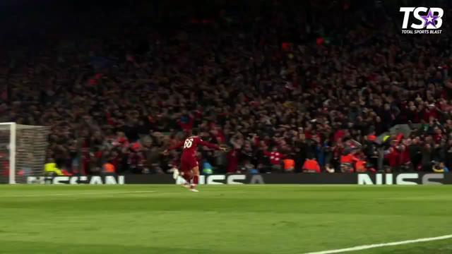Berita video kumpulan gol-gol terbaik yang tercipta pada semifinal Liga Champions 2019, salah satunya adalah gol sensasional yang diciptakan Lionel Messi.