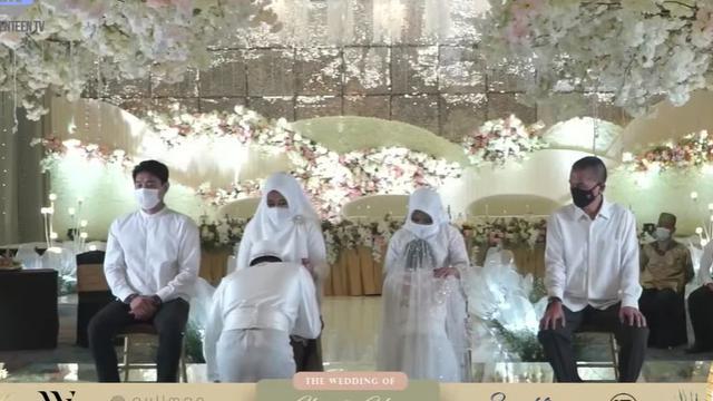 7 Momen Pernikahan Ifan Seventeen dan Citra Monica, Kental Adat Melayu