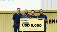 Startup Asal Bandung Jadi Juara Arena Pitch Battle di Tech in Asia 2019 Regional Conference. Kredit: Tech in Asia