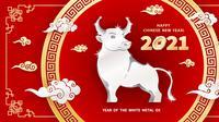 Tahun Baru Imlek 2021, Kerbau Logam. (Shutterstock)