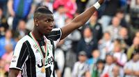 Setelah meninggalkan Manchester United di musim panas 2012, Paul Pogba menjelma menjadi gelandang hebat di Juventus. (AFP)