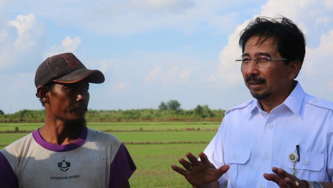 INDX Alsintan Bantu Proses Panen di Kabupaten Tanah Laut - Bisnis Liputan6.com