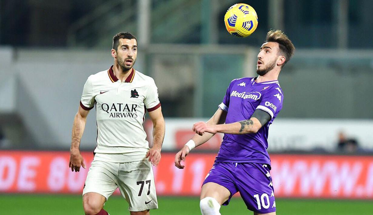 FOTO: AS Roma Curi Kemenangan di Kandang Fiorentina - Dunia Bola.com