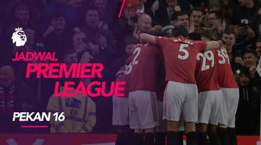 Berita video jadwal Premier League 2019-2020 pekan ke-16. Derbi Manchester City vs Manchester United, Minggu (8/12/2019) di Etihad Stadium.