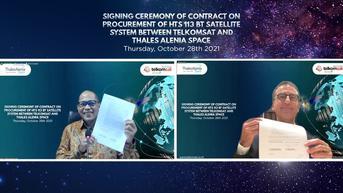 High Throughput Satellite Dukung Konektivitas Digital di Indonesia yang Dibangun Telkom