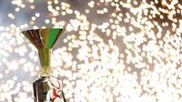 Trofi Serie A. (AFP/Marco Bertorello)