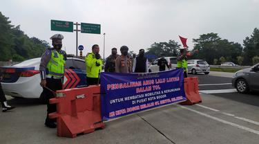 Rekayasa lalin di GT Bogor imbas kemacetan di dalam kota