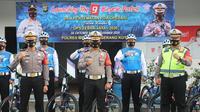 The 9 Bicycle Patrol Polres Metro Tangerang Kota. (foto: Pramita Tristiawati/Liputan6.com).