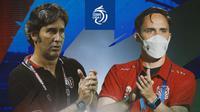 BRI Liga 1 - Duel Pelatih - Bali United Vs Bhayangkara FC (Bola.com/Adreanus Titus)