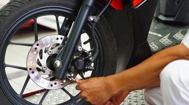 Cara mudah rawat rem cakram pada sepeda motor