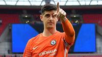 Kiper Chelsea, Thibaut Courtois (AFP/Ben Stansall)