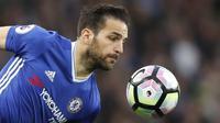 7. Cesc Fabregas (Chelsea) - 220.000 poundsterling per pekan. (AFP/Adrian Dennis)