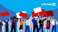 Banner Infografis Demo Tolak UU Cipta Kerja. (Liputan6.com/Abdillah)
