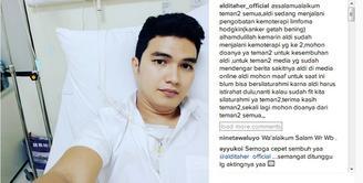 Kabar mengejutkan dari salah satu personel Trio Ubur-ubur, Aldi Taher. Beredar kabar bahwa Aldi sedang mengidap penyakit kanker ganas. (Instagram/alditaher_official)