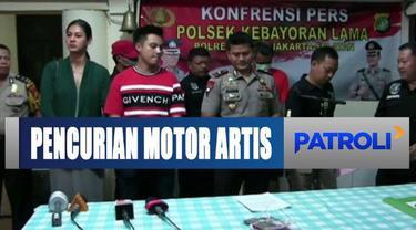 Tersangka melakukan pencurian saat bekerja sebagai petugas keamanan di rumah artis Baim Wong.