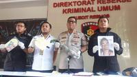 Direktorat Reserse Kriminal Umum Polda Metro Jaya Menggelar Press Release Kasus Dugaan Perampokan, (2/7/2019). (Foto: Merdeka.com)