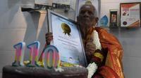 Nenek di Malaysia Ungkap Rahasia Tetap Sehat di Usia 110 Tahun. foto: Facebook @Sudar Oil Malaysia