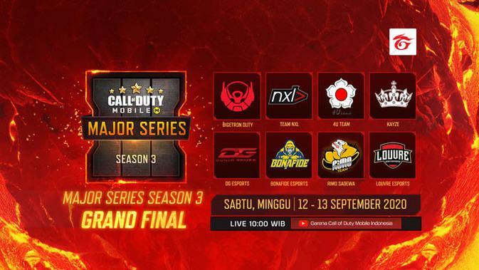 Grand Final Call of Duty Mobile Major Series Season 3. (Doc: Garena)