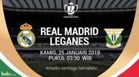 Copa del Rey_Real Madrid Vs Leganes (Bola.com/Adreanus Titus)