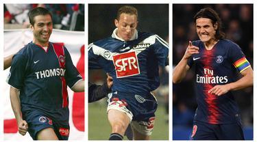 Liga Prancis yang masuk dalam deretan Liga terbaik di Eropa dihuni para striker tajam, mulai striker lokal hingga striker impor. Berikut 5 striker tertajam yang dimiliki klub Prancis yang berlaga di semua ajang kompetisi sepanjang sejarah. (Kolase Foto AFP)