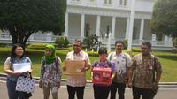 Koalisi Save Baiq Nuril (Merdeka.com/Titin Supriatin)