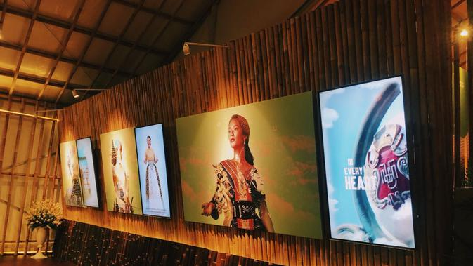 Seni visual di Indonesia Pavilion. Dok: Istimewa