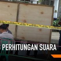 2 Saksi parpol memprotes rekapitulasi penghitungan suara di kecamatan Torjun Sampang. Keduanya meminta kotak suara dibuka dan dihitung ulang. Aparat keamanan menghalau keduanya karena mengganggu proses rekapitulasi suara.