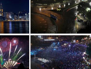 Suasana Berbeda Tahun Baru 2020 dan 2021 di Dunia