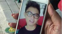 Salah satu korban pembacokan remaja bercadar, Adnan Wirawan (15) meninggal dunia. (Liputan6.com/Switzy Sabandar)