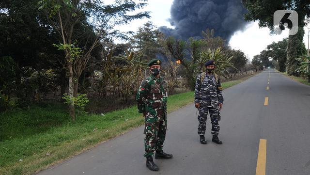 Jalan Raya Balongan-Indramayu Ditutup