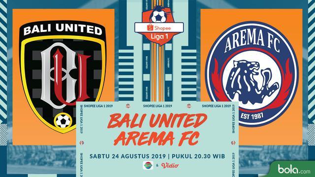 Eksklusif Live Streaming Shopee Liga 1 di Indosiar: Bali United Vs Arema FC – Indonesia