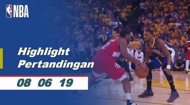 Berita video Final NBA 2019, Toronto Raptors vs Golden State Warriors, semakin seru dan sengit setelah game 4. Raptors sementara memimpin 3-1.