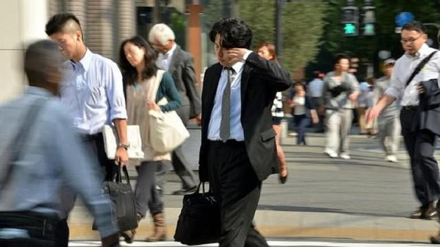 Budaya kerja karyawan Jepang (AFP)