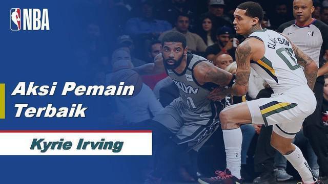 Berita Video Kyle Irving sukses cetak 32 Poin namun gagal bawa Brooklyn Nets menang atas Utah Jazz.
