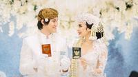 Pernikahan Kevin Aprilio dengan Vicy Melanie (Instagram/thebridestory)
