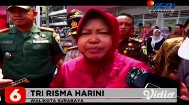 Pemerintah Kota Surabaya, Jawa Timur kembali melarang sebuah kapal pesiar untuk bersandar di Pelabuhan Tanjung Perak. Kapal pesiar MV Columbus rencananya akan bersandar di Kota Surabaya, (12/3). Penolakan itu merupakan bentuk antisipasi virus Covid-1...