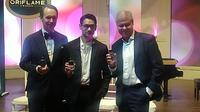 Afgan Saat Peluncuran Eclat Style Parfum dari Oriflame di Jakarta, 18 Februari 2020. (Liputan6.com/Henry)