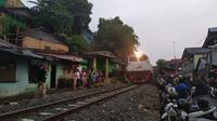 Ribuan Rumah Tergusur Jalur Ganda Bogor-Sukabumi (Foto:Liputan6/Achmad Sudarno)
